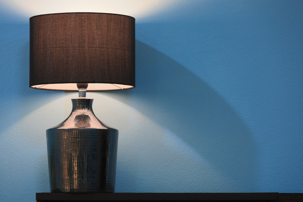 Ubrugte Enkle lampeskærme i stof hitter i det moderne hjem - Luksusindretning DQ-11